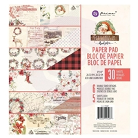 "Εικόνα του Prima Marketing Μπλοκ Scrapbooking 8""X8"" - Christmas In The Country"