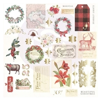 Εικόνα του Prima Marketing Christmas In The Country Cardstock Ephemera