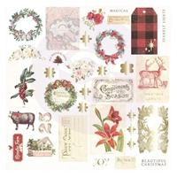 Εικόνα του Prima Marketing Christmas In The Country Cardstock Ephemera