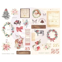 Εικόνα του Prima Marketing Christmas In The Country Chipboard Stickers