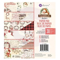 "Εικόνα του Prima Marketing Double-Sided Paper Pad 6""X6"" - Christmas In The Country"