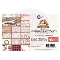 "Εικόνα του Prima Marketing Christmas In The Country Journaling Cards 4""X6"""
