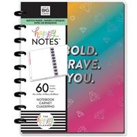 Εικόνα του Happy Planner Medium Journaling Notebook - Rainbow Be Bold Student