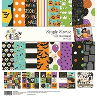 "Εικόνα του Simple Stories Collection Kit 12""X12"" - Say Cheese Halloween"