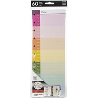 Εικόνα του Happy Planner Big Half Sheet Fill Paper - Hourly Jewel Student