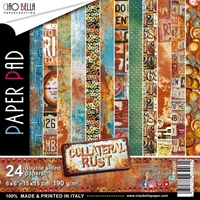 "Εικόνα του Ciao Bella Double-Sided Paper Pack 6""X6"" - Collateral Rust"