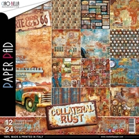"Εικόνα του Ciao Bella Double-Sided Paper Pack 12""X12"" - Collateral Rust"