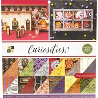 "Εικόνα του DCWV Double-Sided Cardstock Stack 12""X12"" - Curiosities"