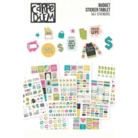 Εικόνα του Carpe Diem A5 Planner Sticker Tablet - Budget