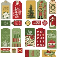 Εικόνα του Christmas Memories Ephemera Cardstock Die-Cuts