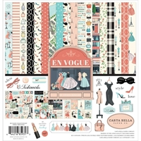 "Εικόνα του Carta Bella Collection Kit 12""X12"" - En Vogue"
