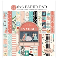 "Εικόνα του Carta Bella Double-Sided Paper Pad 6""X6"" - En Vogue"