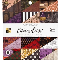 "Εικόνα του DCWV Double-Sided Cardstock Stack 6""X6""  - Curiosities"