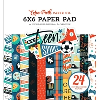 "Εικόνα του Echo Park Double-Sided Paper Pad 6""X6"" - Teen Spirit Boy"