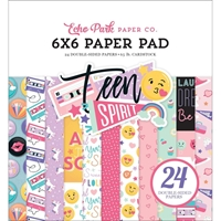 "Εικόνα του Echo Park Double-Sided Paper Pad 6""X6"" - Teen Spirit Girl"