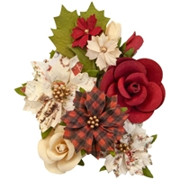 Εικόνα του Christmas In The Country Mulberry Paper Flowers - Christmas Song