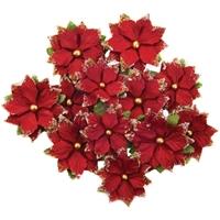 Εικόνα του Christmas In The Country Mulberry Paper Flowers - Festive Night