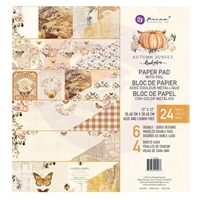 "Εικόνα του Prima Marketing Μπλοκ Scrapbooking 12""X12"" - Autumn Sunset"