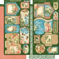 Εικόνα του Graphic 45 Joy To The World Die Cuts: Tags & Pockets