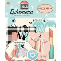Εικόνα του Carta Bella En Vogue Cardstock Ephemera - Icons
