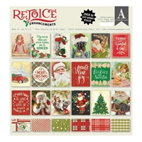 Εικόνα του Authentique Double-Sided Cardstock Pad 12X12 - Rejoice Enhancements