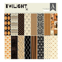 "Εικόνα του Authentique Double-Sided Cardstock Pad 12""X12"" - Twilight"