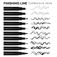 Εικόνα του Jane Davenport Finishing Line Pens - Expressive Set