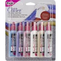Εικόνα του Tulip Διαστατικά Χρώματα για Ύφασμα - Glitter