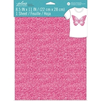 Εικόνα του Jolee's Boutique Easy Image Single Transfer Sheet - Pink Glitter