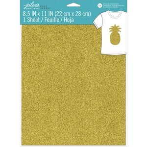 Picture of Jolee's Boutique Easy Image Single Transfer Sheet - Gold Glitter