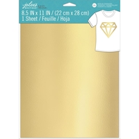 Εικόνα του Jolee's Boutique Easy Image Single Transfer Sheet - Gold Metallic