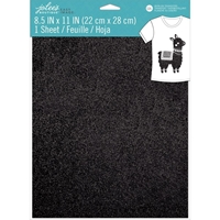 Εικόνα του Jolee's Boutique Easy Image Single Transfer Sheet - Black Glitter