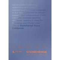 """Εικόνα του Stonehenge Aqua Block Coldpress Pad 7""""X10"""" - Μπλοκ Ακουαρέλας"""