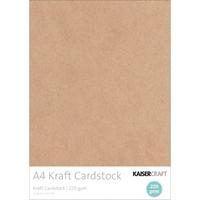 Εικόνα του Kaisercraft Coverstock A4 - 220gsm Kraft