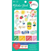 Εικόνα του American Crafts Sticker Book - Pebbles