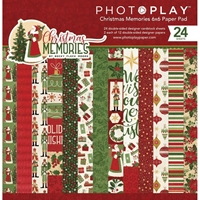 "Εικόνα του PhotoPlay Double-Sided Paper Pad 6""X6""  - Christmas Memories"