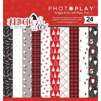 "Εικόνα του PhotoPlay Double-Sided Paper Pad 6""X6""  - Kringle & Co"