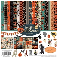 "Εικόνα του Carta Bella Collection Kit 12""X12"" - Happy Halloween"
