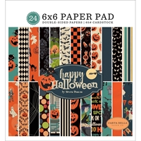 "Εικόνα του Carta Bella Double-Sided Paper Pad 6""X6"" - Happy Halloween"