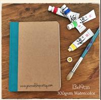 Εικόνα του Journal Shop Watercolor Journal - 13 x 18.5 cm