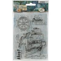 Εικόνα του Studio Light Ocean View Clear Stamps No 366