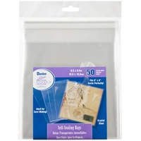 "Εικόνα του Darice Self-Sealing Bags - 6.5""X6.5"" Clear"
