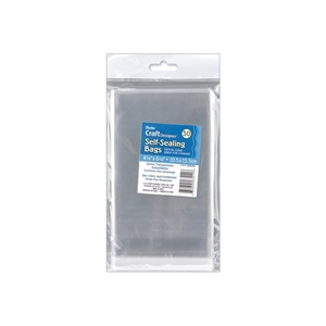 "Picture of Darice Self-Sealing Bags - 4.125""X6.125"" Clear"