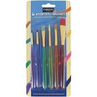 Εικόνα του Sargent Art Children's Taklon Brush Set 6/Pkg - Παιδικό Σετ Πινέλων