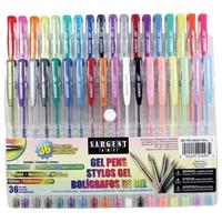 Εικόνα του Sargent Art Gel Pen Set 36/Pkg  - Σετ Στυλό Gel