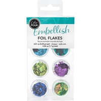 Εικόνα του American Crafts Color Pour Foil Flakes - Cool