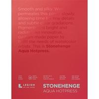 """Εικόνα του Stonehenge Aqua Block Hotpress Pad 9""""X12"""" - Μπλοκ Ακουαρέλας"""