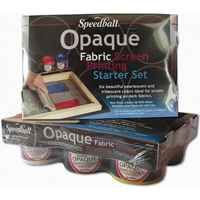 Εικόνα του Speedball Opaque Fabric Screen Printing Starter Kit - Κιτ μεταξοτυπίας (Opaque Starter Kit)