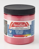 Εικόνα του Speedball Opaque Fabric Screen Printing Ink - Raspberry