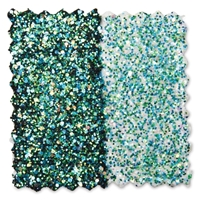 Εικόνα του Fabric Creations Fantasy Glitter Fabric Paint 2oz - Mermaids Tail
